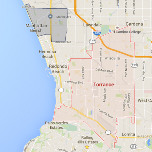 Torrance-Manhattan-Map